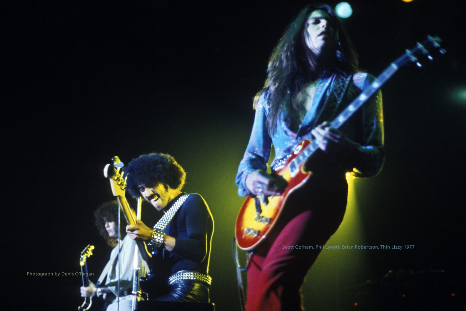 THIN LIZZY, Thin Lizzy Live, 1977