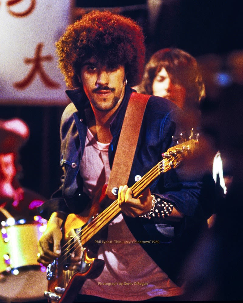 THIN LIZZY, Thin Lizzy Chinatown, 1980