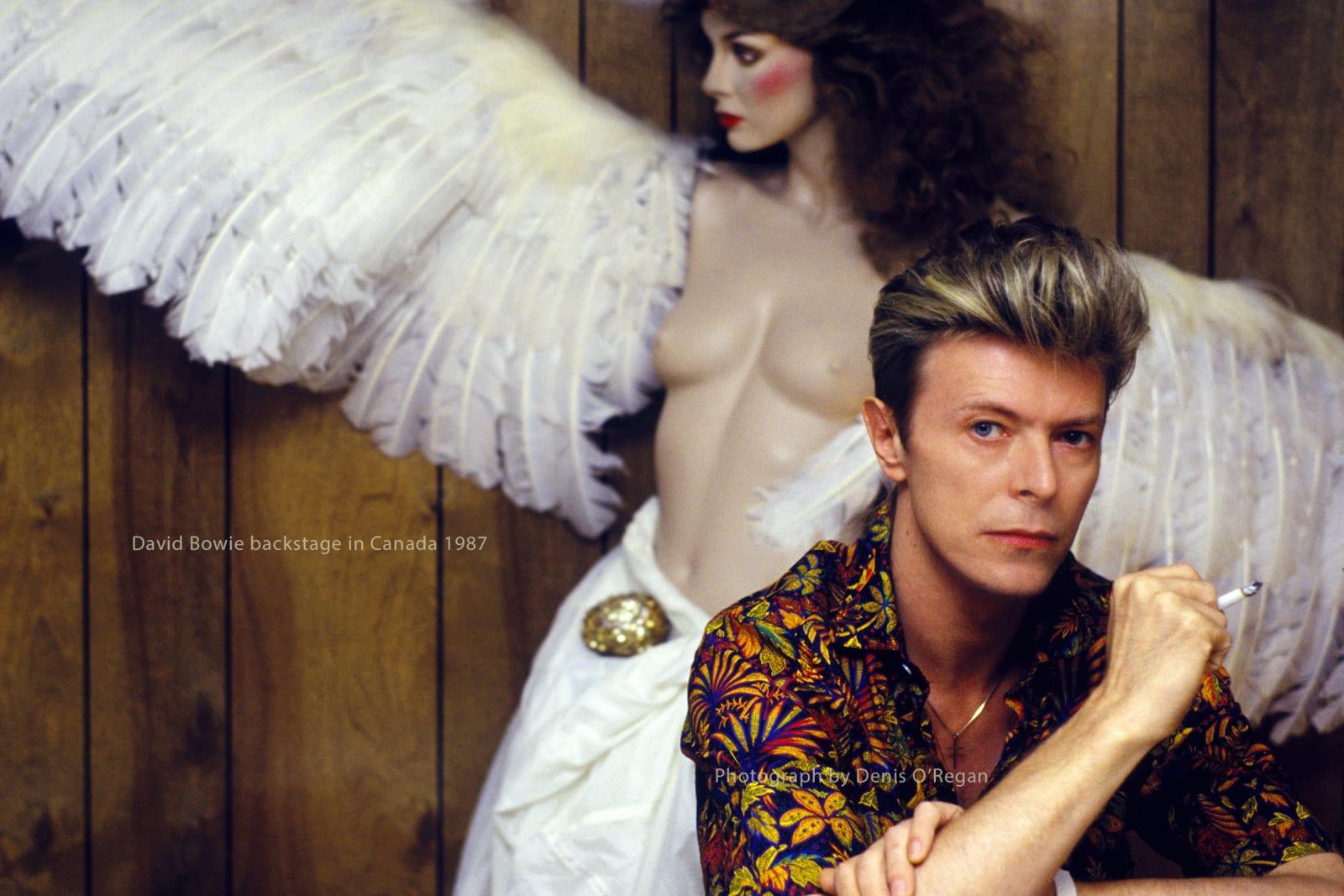 DAVID BOWIE, David Bowie Canadian Angel, 1987
