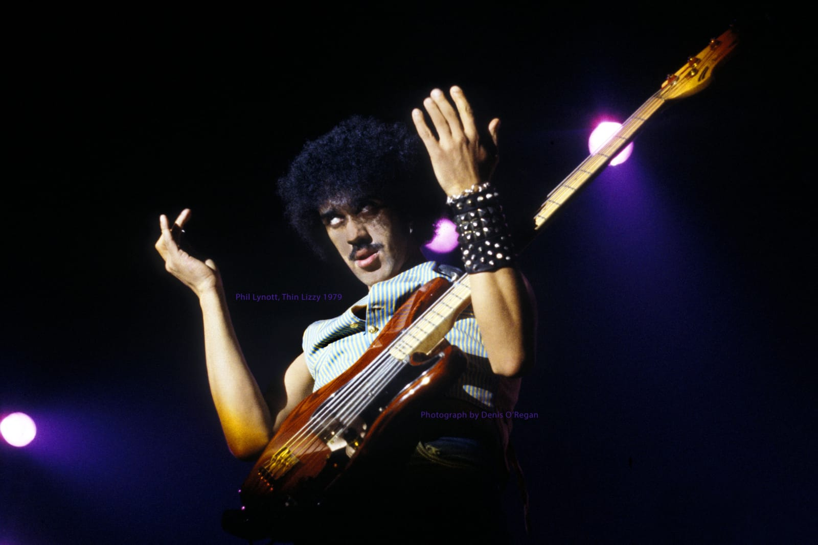 THIN LIZZY, Phil Lynott Live, 1979