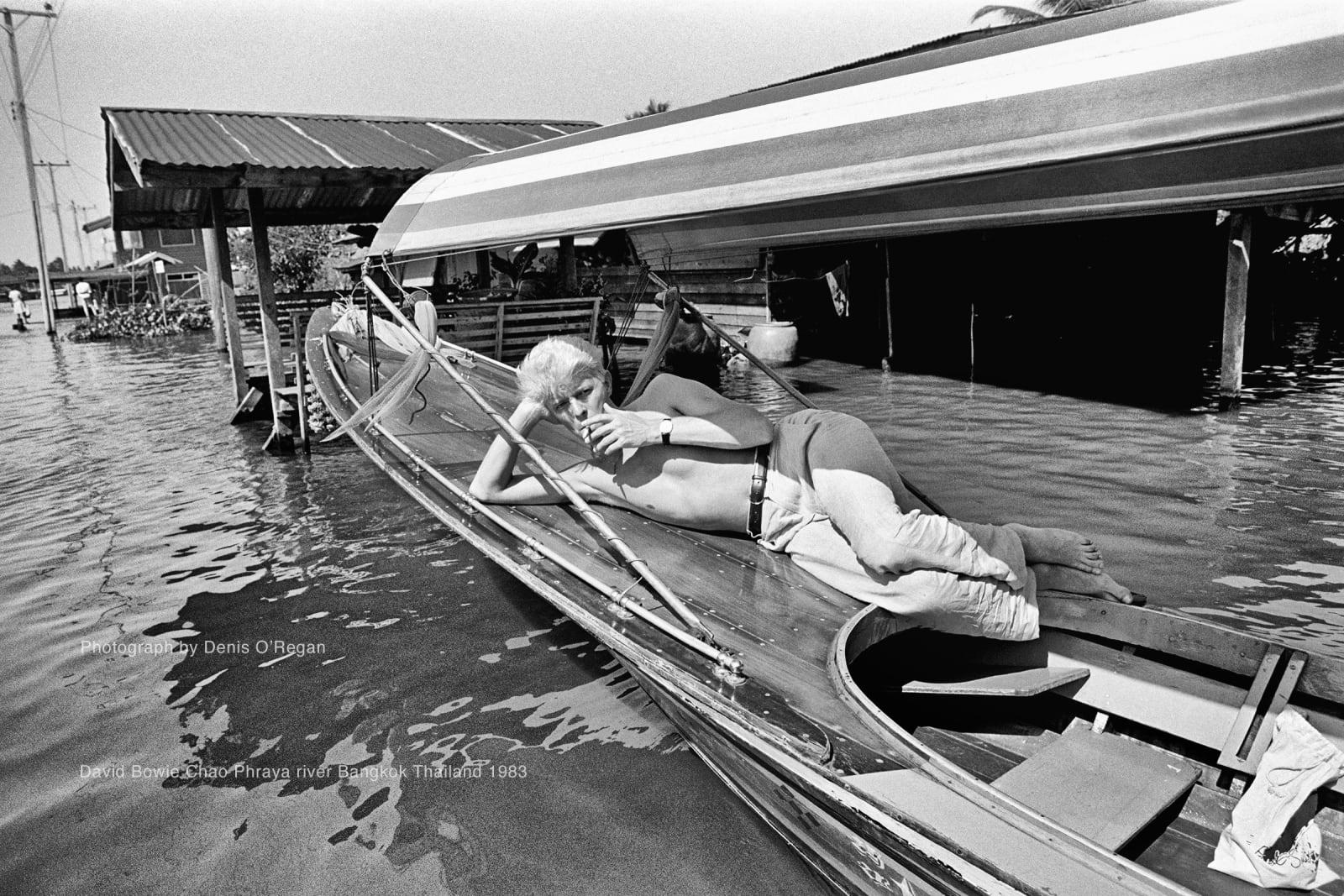 DAVID BOWIE, David Bowie Bangkok Thailand, 1983