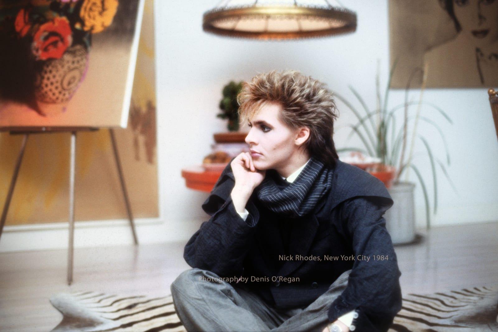 DURAN DURAN, Nick Rhodes New York City, 1984