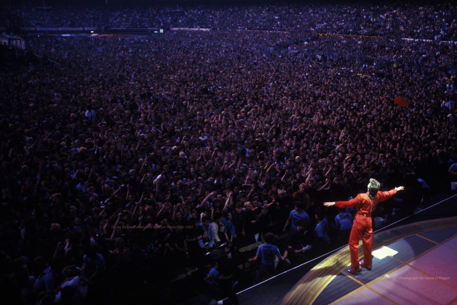DAVID BOWIE, David Bowie Rotterdam, 1987