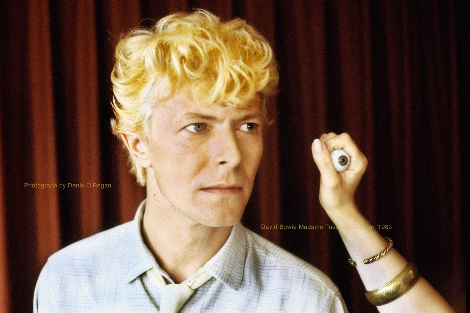 DAVID BOWIE, David Bowie Madame Tussaud's, 1983
