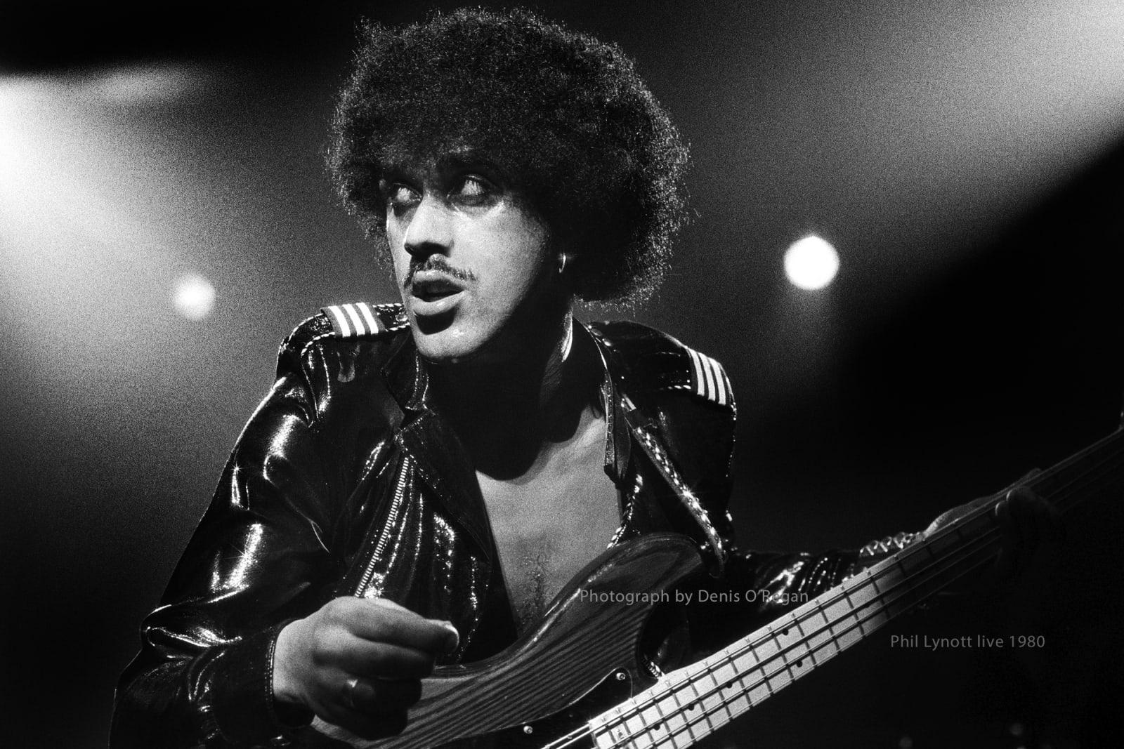 THIN LIZZY, Phil Lynott Thin Lizzy live, 1981