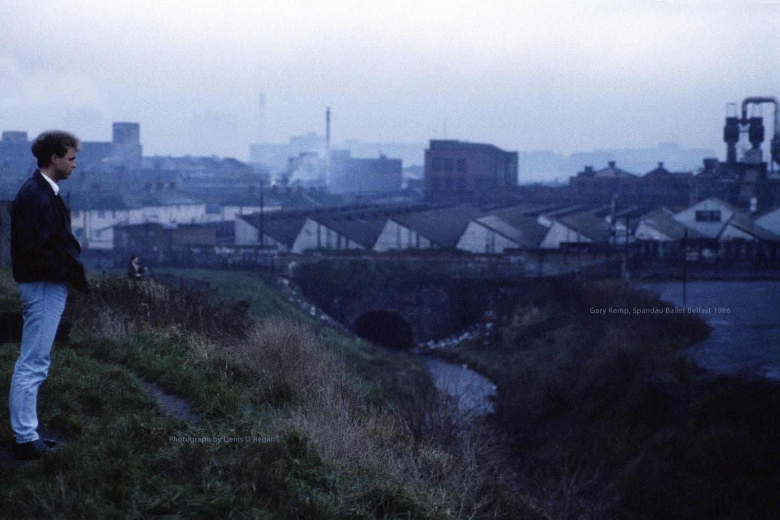 SPANDAU BALLET, Gary Kemp Belfast, 1986