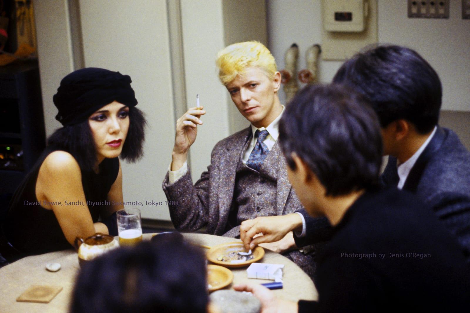 DAVID BOWIE, Bowie, Sandii, Riyuichi Sakamoto, 1983