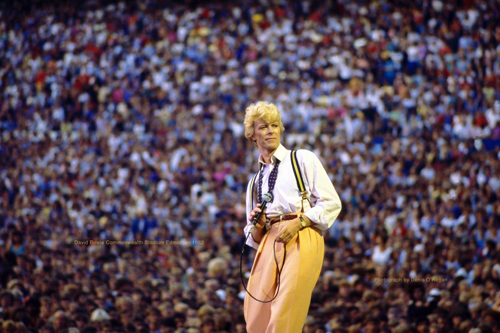 DAVID BOWIE, David Bowie Edmonton, 1983