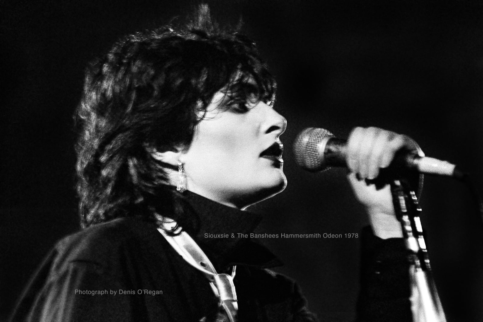 Siouxsie & The Banshees, Siouxsie Sioux Hammersmith, 1978