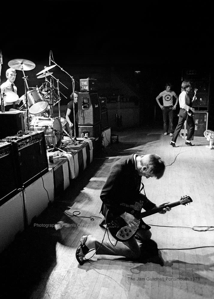 THE JAM, Paul Weller Portsmouth, 1978