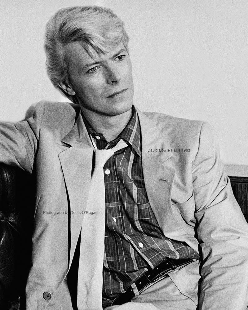 DAVID BOWIE, David Bowie Paris, 1983