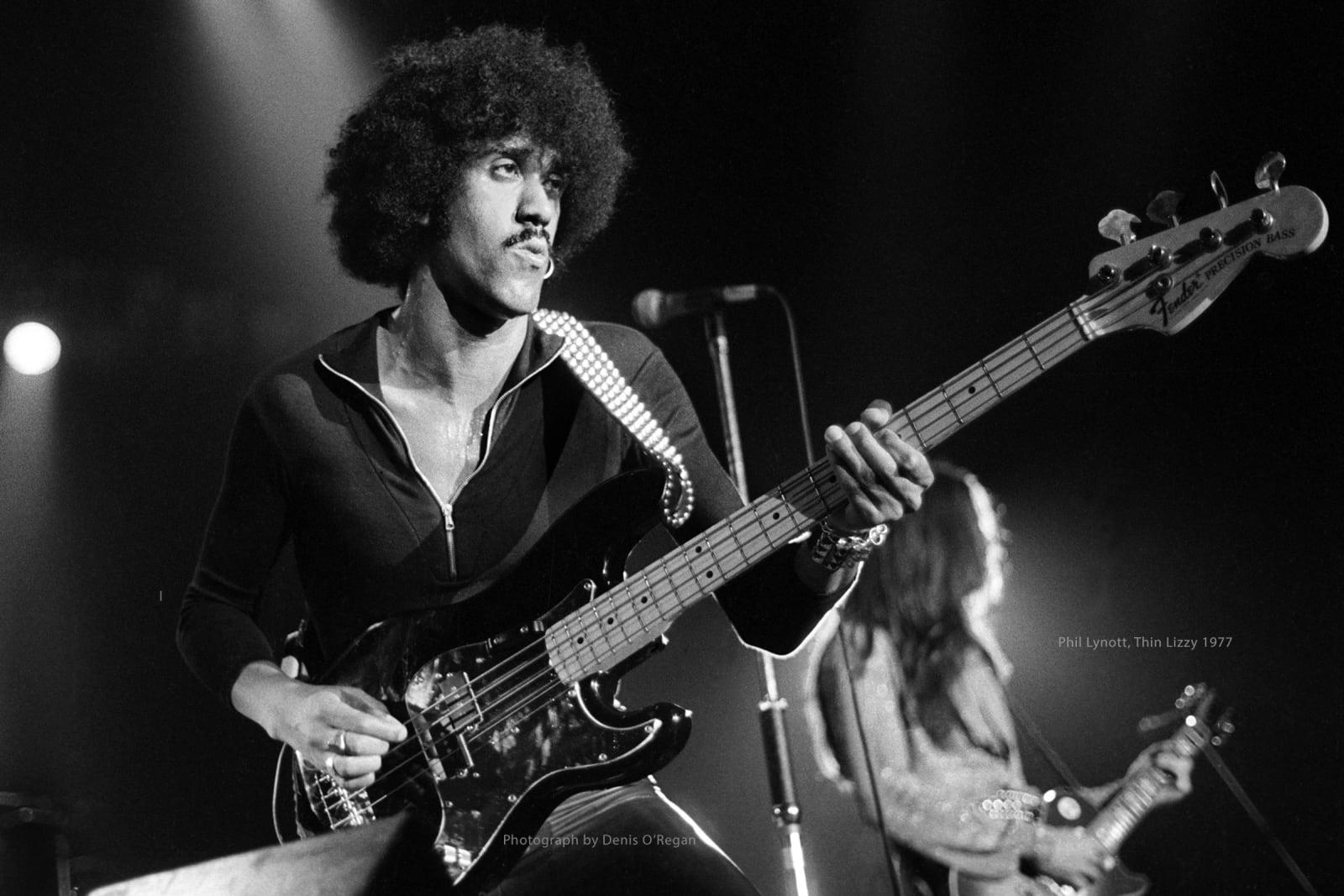 THIN LIZZY, Phil Lynott Live, 1977