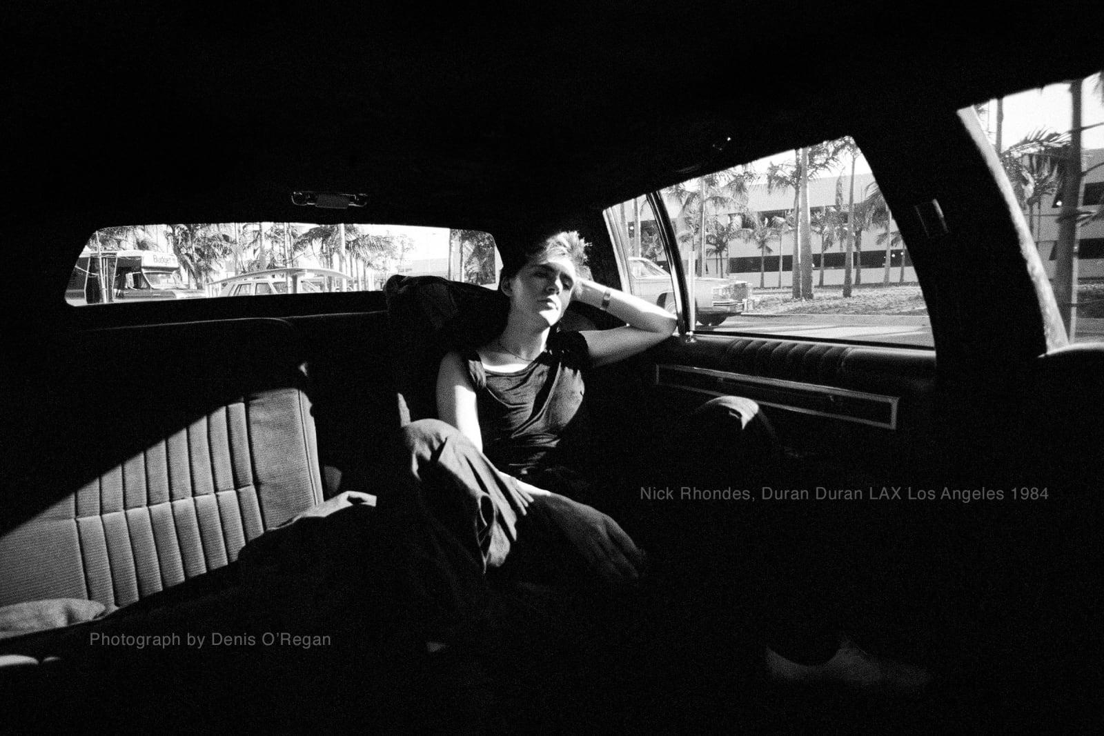 DURAN DURAN, Nick Rhodes LAX Los Angeles, 1984