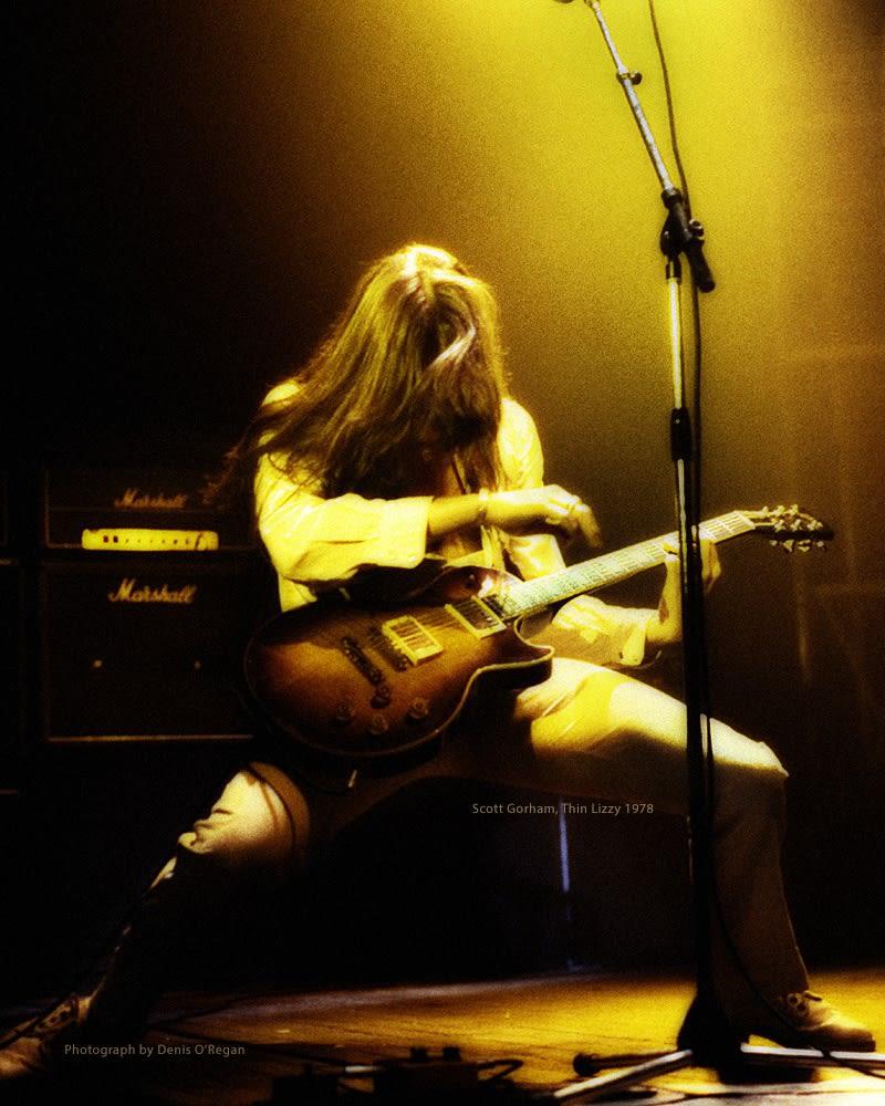 THIN LIZZY, Scott Gorham Live, 1978