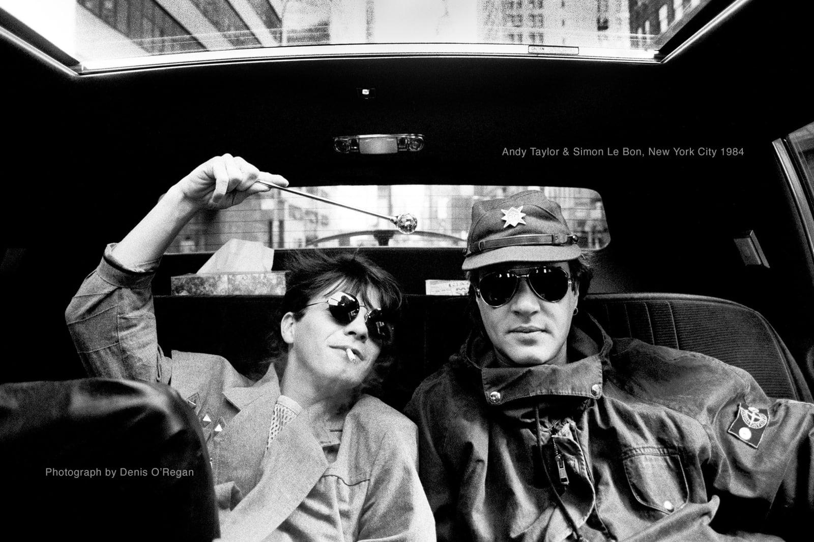 DURAN DURAN, Andy Taylor & Simon Le Bon NYC, 1984