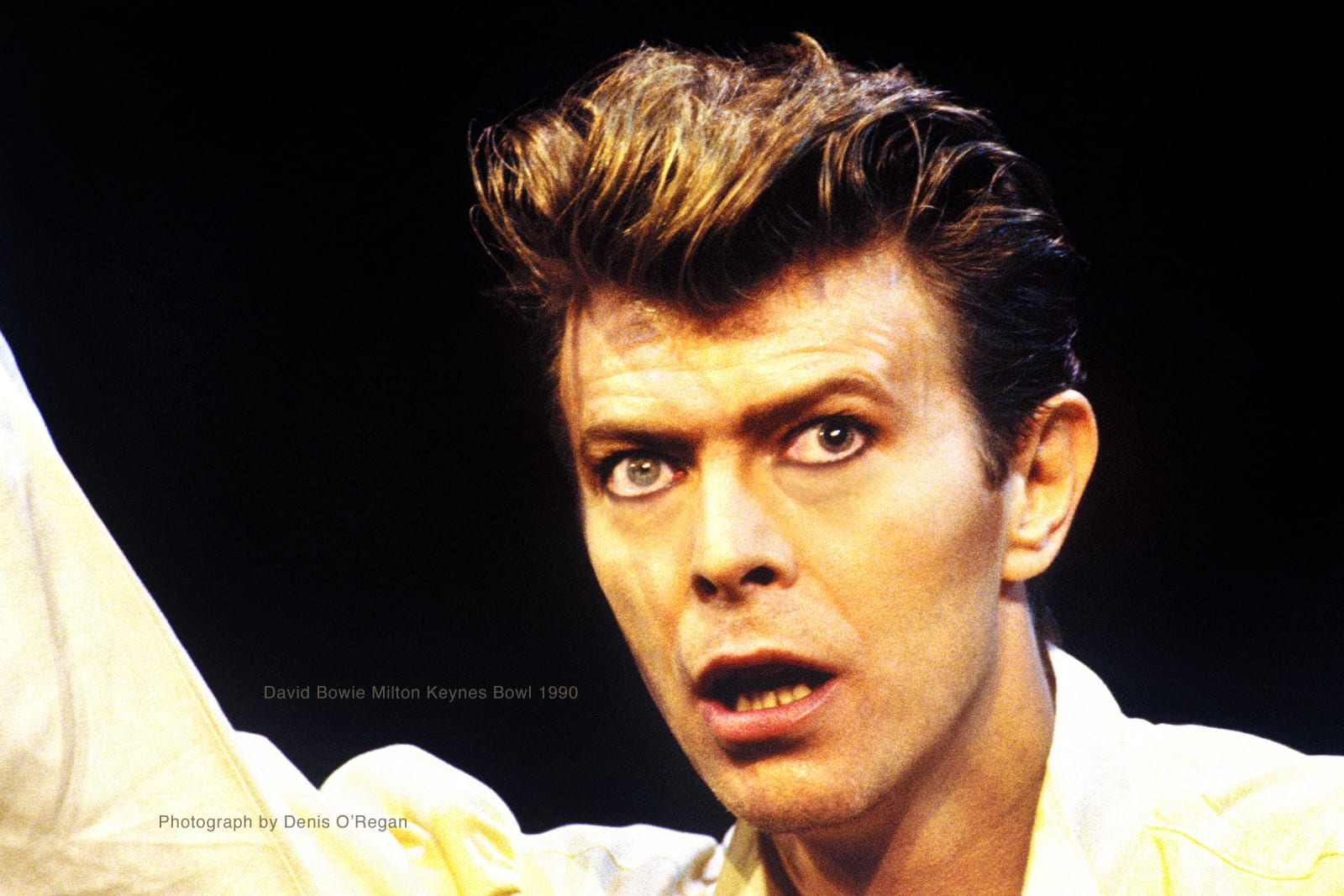 DAVID BOWIE, David Bowie Milton Keynes, 1990