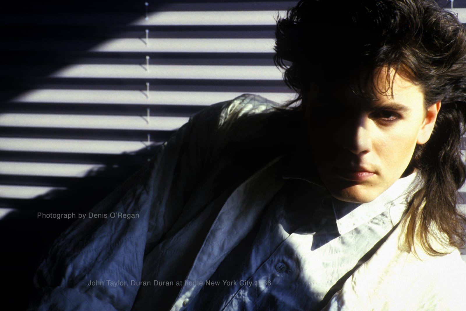 DURAN DURAN, John Taylor at home Manhattan, 1986