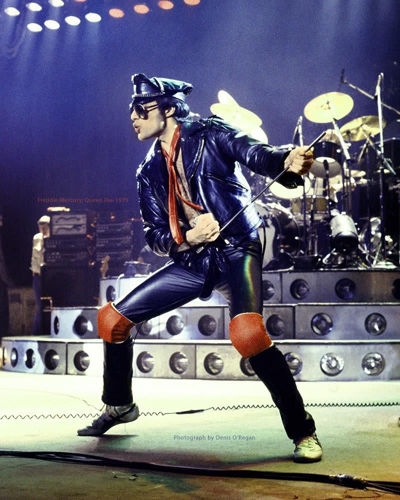 QUEEN, Freddie Mercury In Leather, 1979