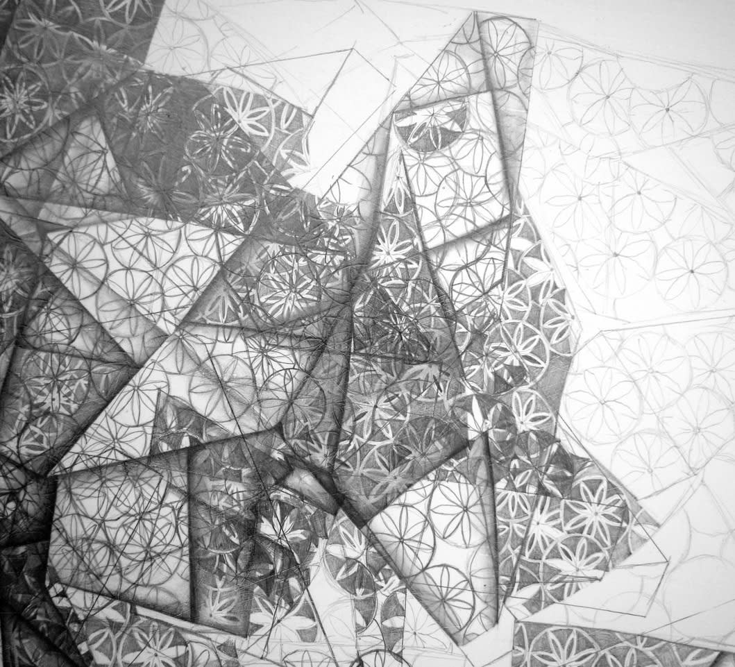 Dodecahedron 4, Detail
