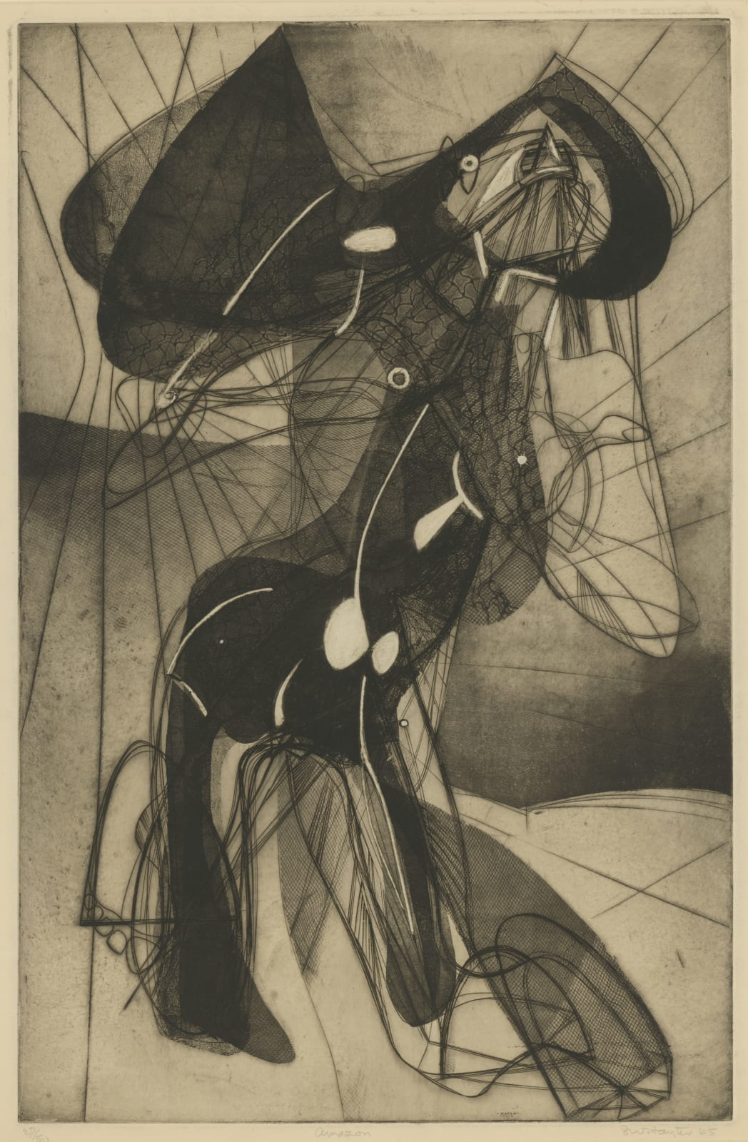 Stanley William Hayter, Amazon, 1945