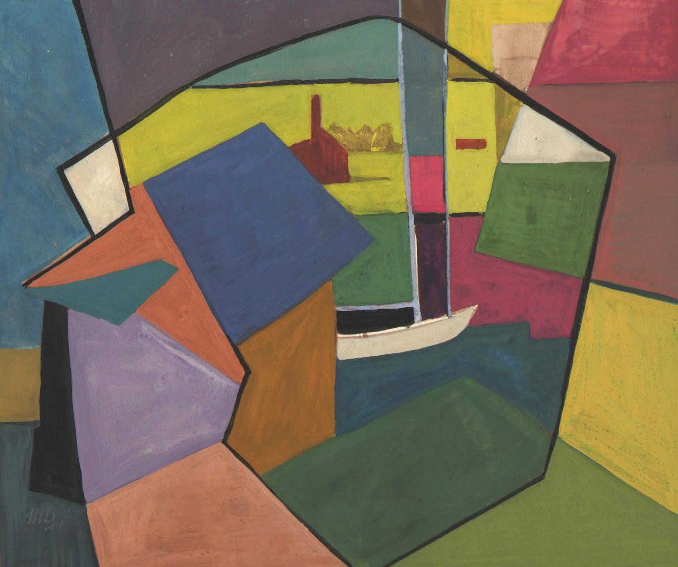 Morris Blackburn, Gloucester Abstraction, 1944