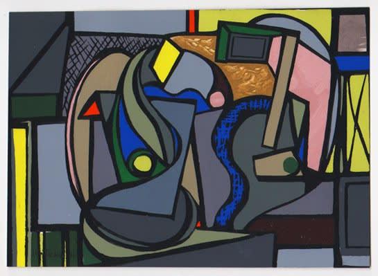 Judith Rothschild, Composition (46.11), 1946