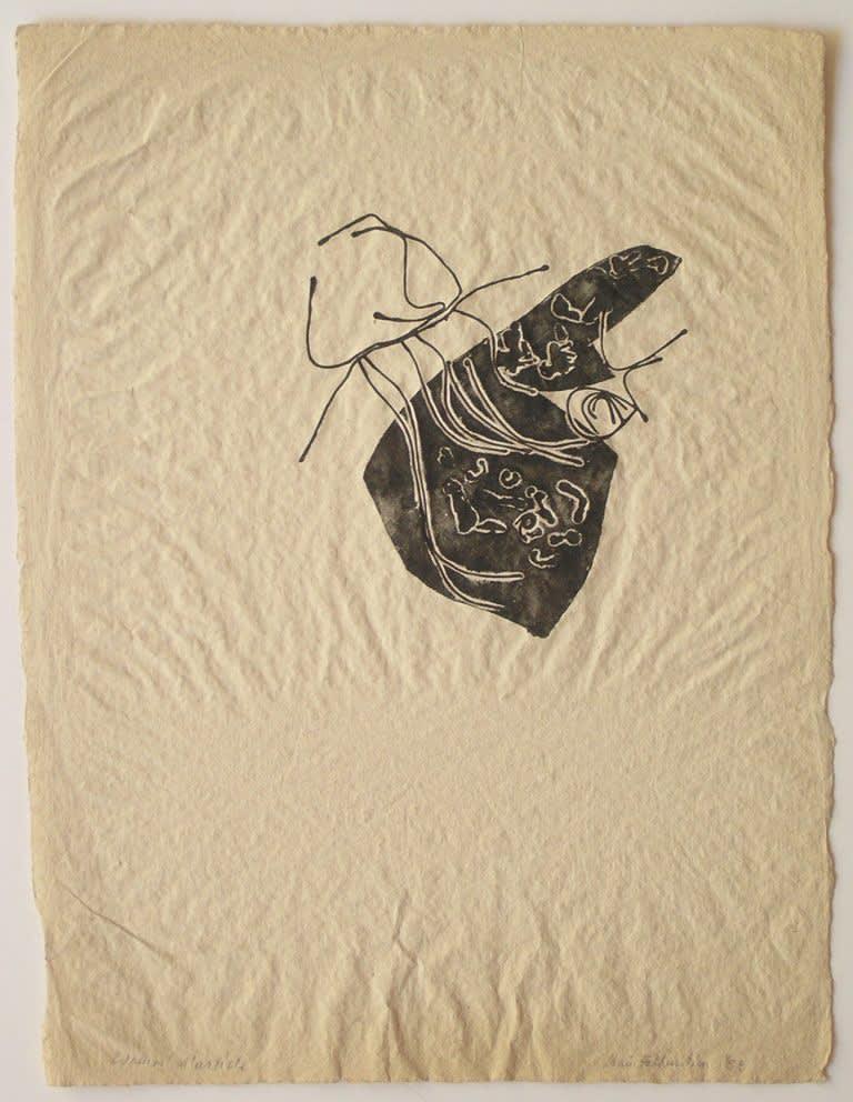 Claire Falkenstein, Struttura Grafica, 1953