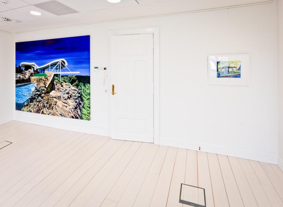 Huset i skoven, Galleri DGV, Svendborg, Denmark, 2015