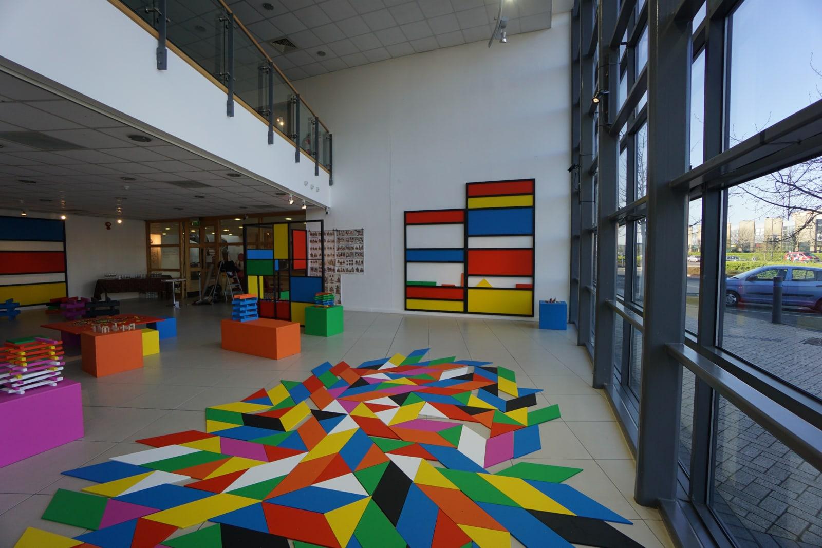 History of Play, installation view, Draiocht, Dublin, 2017