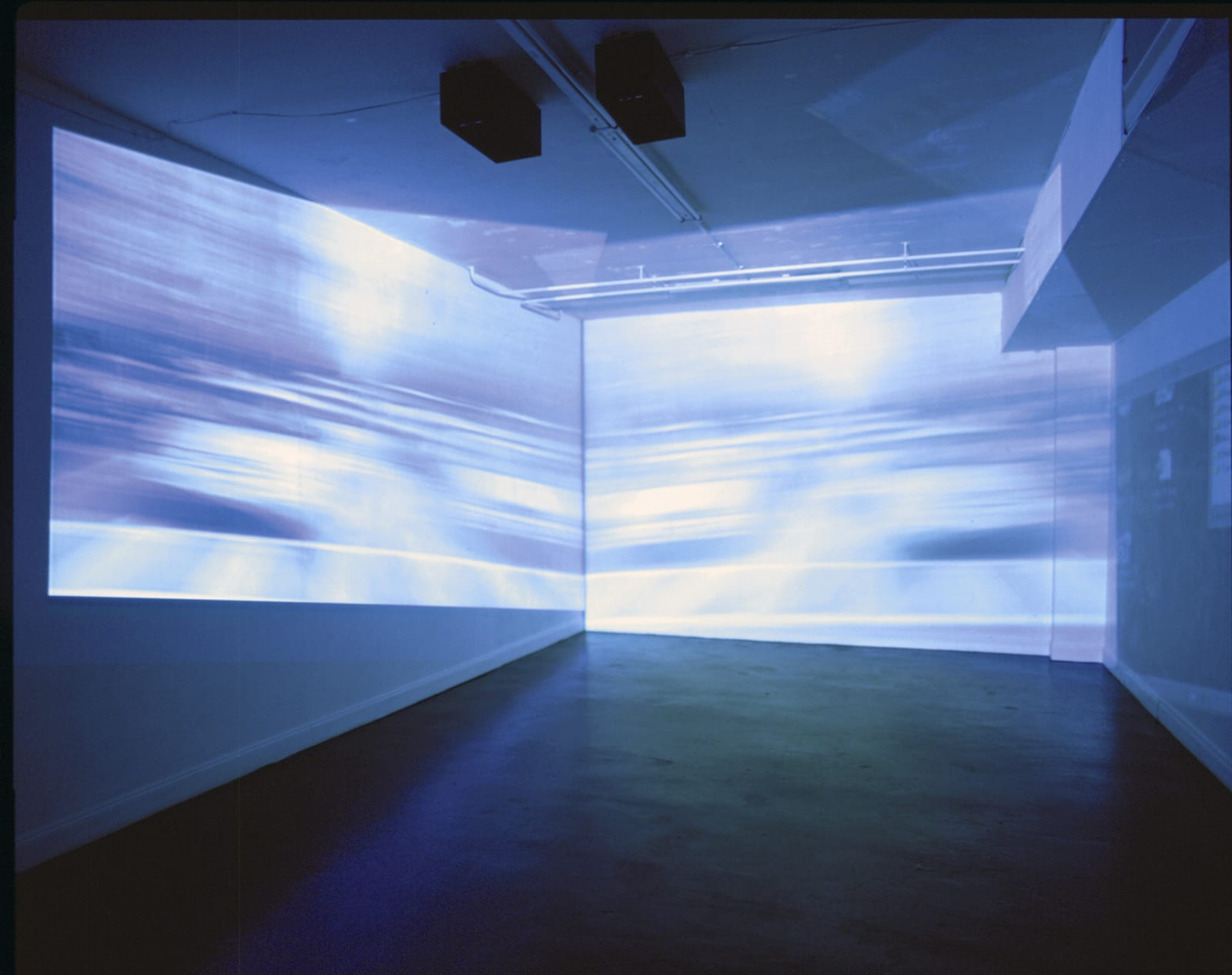 Tourist Interface, installation view, Orchard Gallery, Derry, 2000