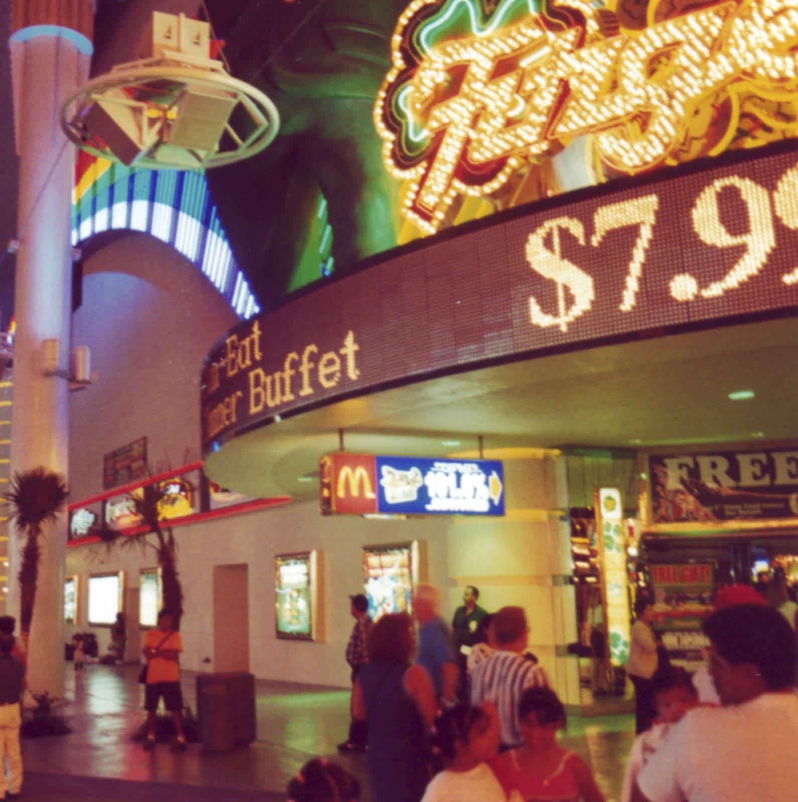Casino, duratrans lightbox, 122 x 122 cm, 2000