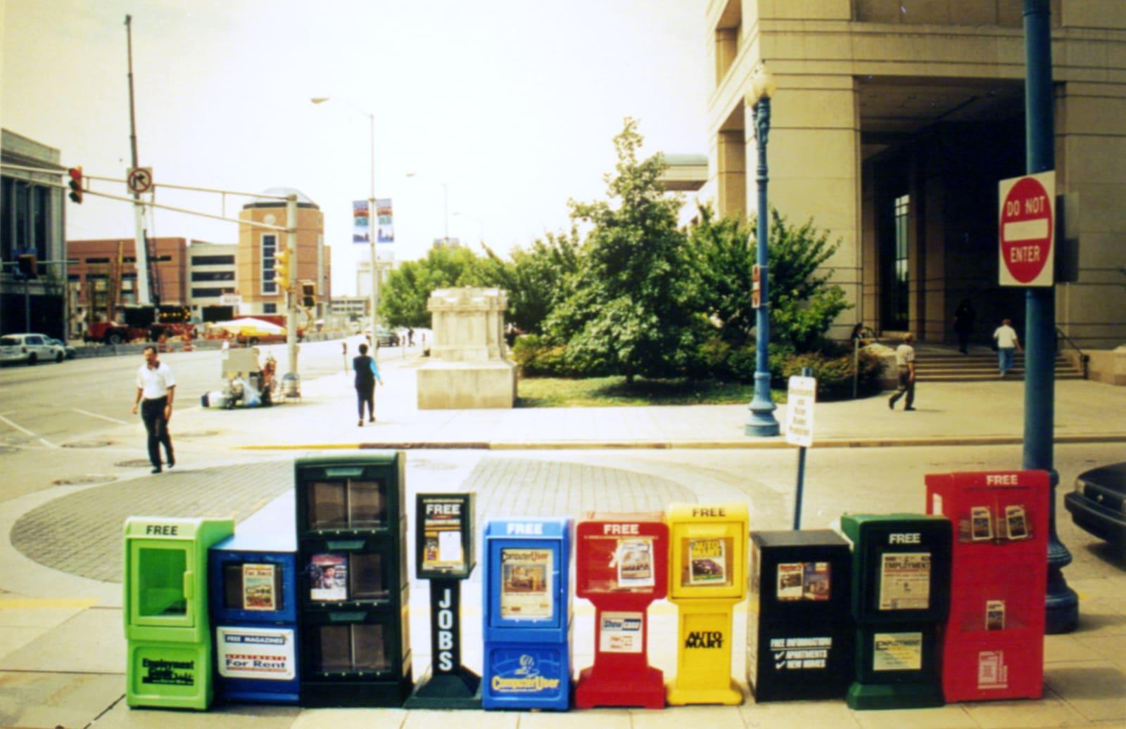 Stands, photograph, 122 x 183 cm, 2000