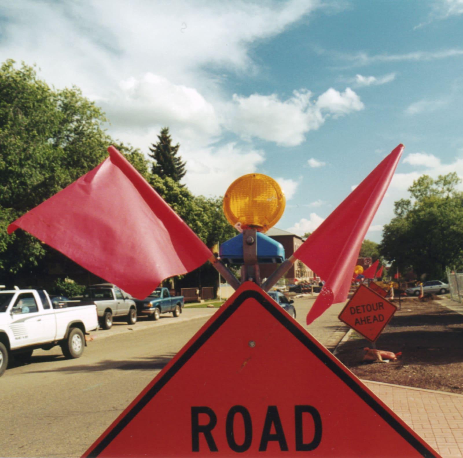 Road, duratrans lightbox, 122 x 122 cm, 2000