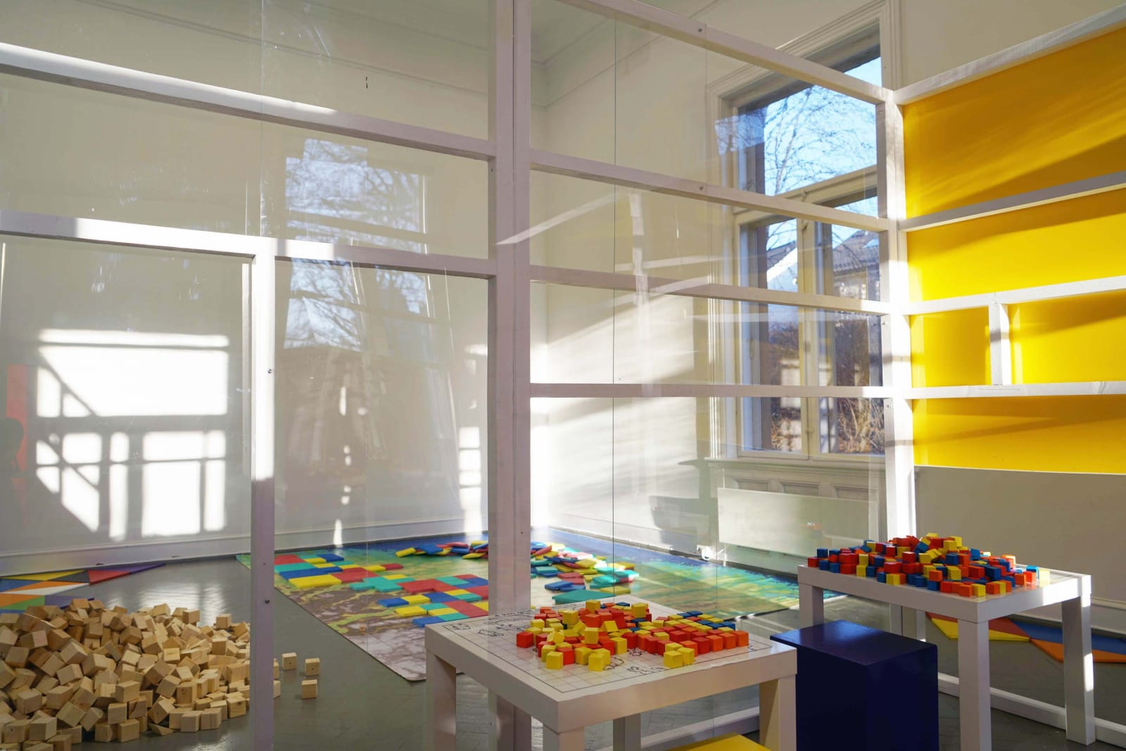 Montessori Glass Classroom, Norwegian Sculptors Society, Oslo, 2020