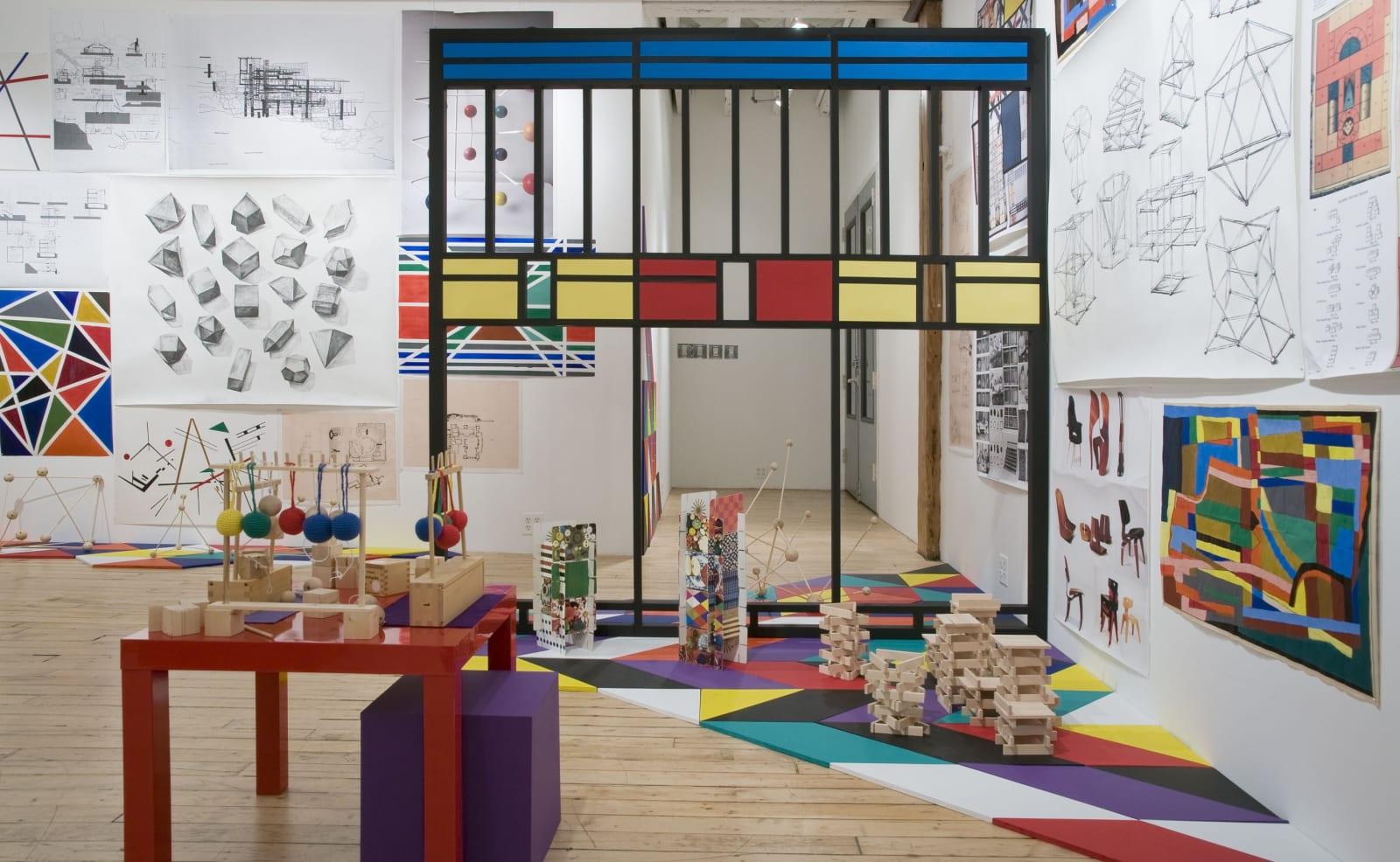 Fröbel Studio: The Institute for Creativity, RARE Gallery, New York, 2013