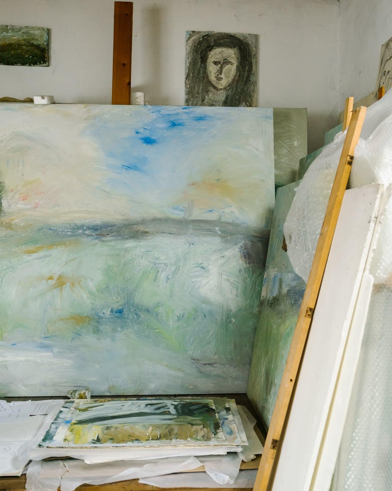 Landscape 'Elegy At Dusk'