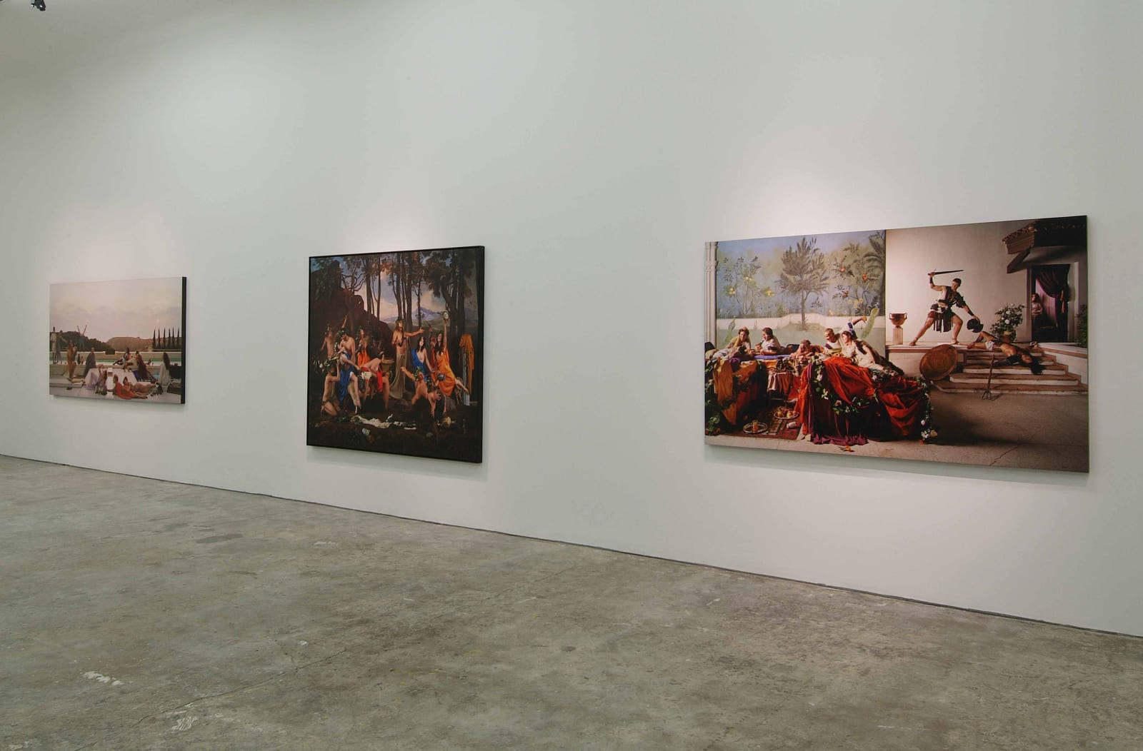 Eleanor Antin, The Empire of Signs, Exhibition view, 3 February - 14 April 2007, Erna Hecey Gallery, Brussels, Photo © Philippe de Gobert