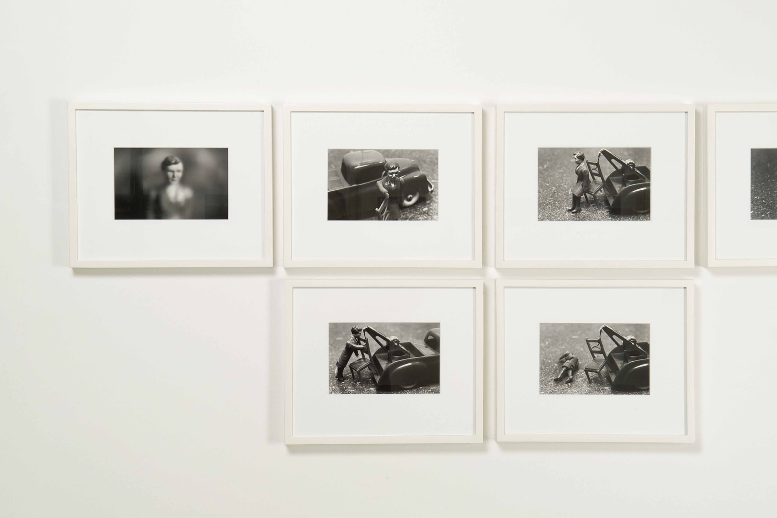 Laurie Simmons, In and Around the House, Photographs 1976-78, Exhibition view, 21 December 2008 - 21 March 2009, Erna Hecey Gallery, Brussels