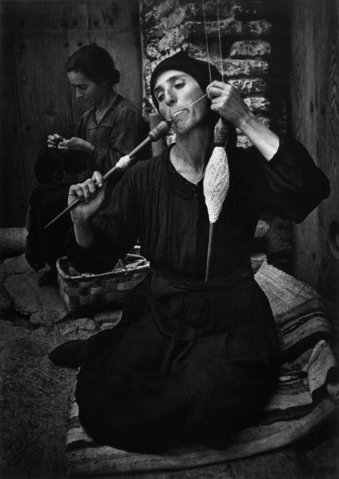 W. Eugene Smith - The Spinner, from Spanish Village, 1951
