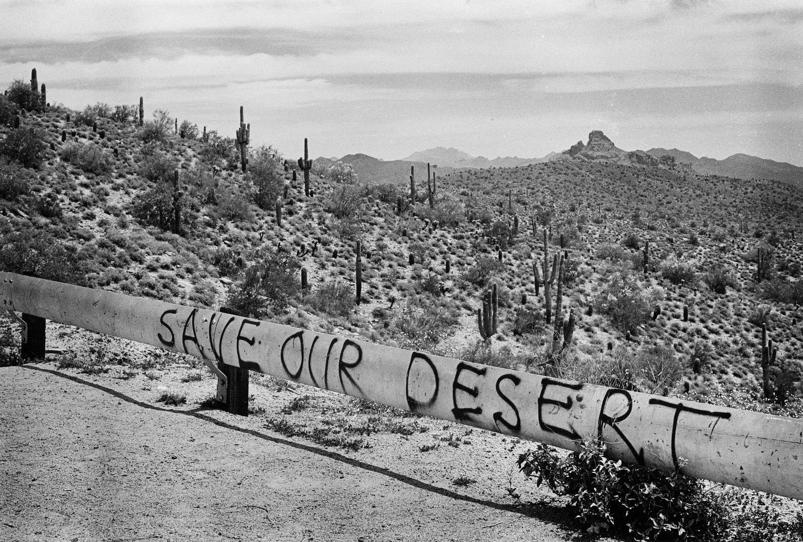 David Hurn - Arizona. Route 87, 1980