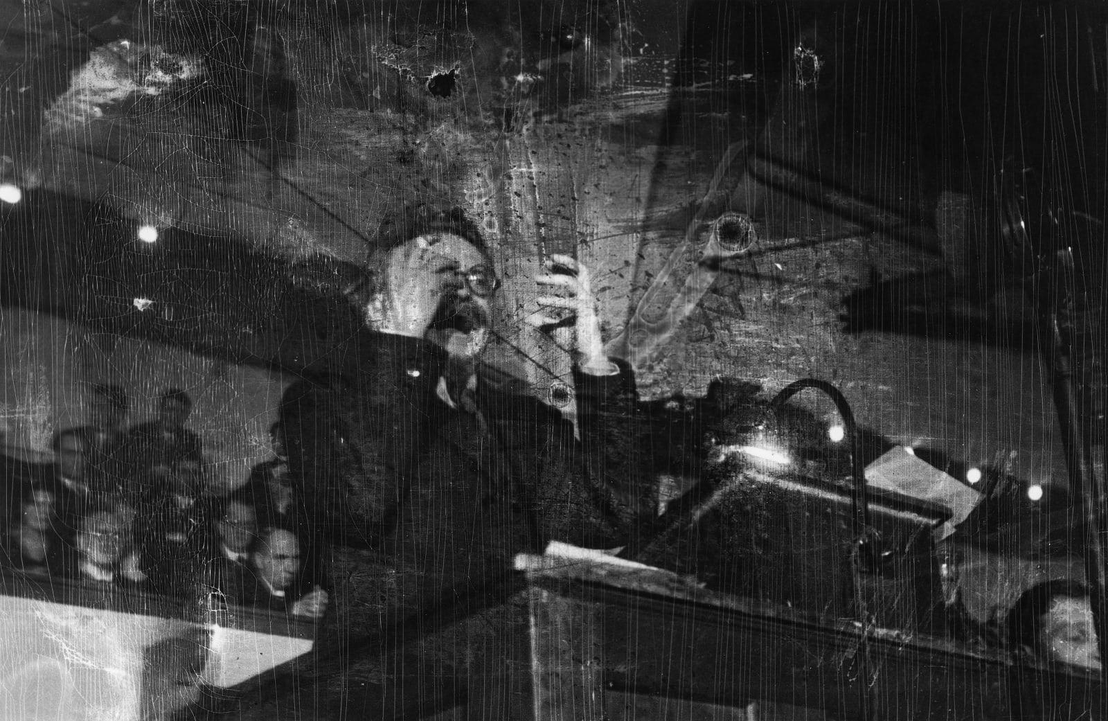 Robert Capa - Trotsky, Copenhagen, November 27th, 1932