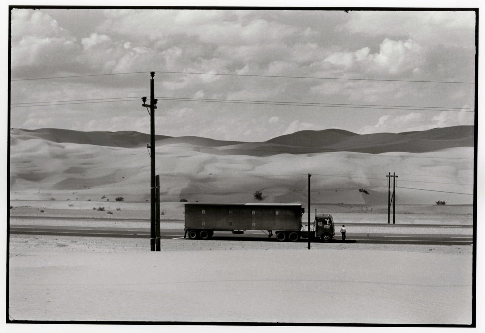 Danny Lyon - Near Yuma California, 1962
