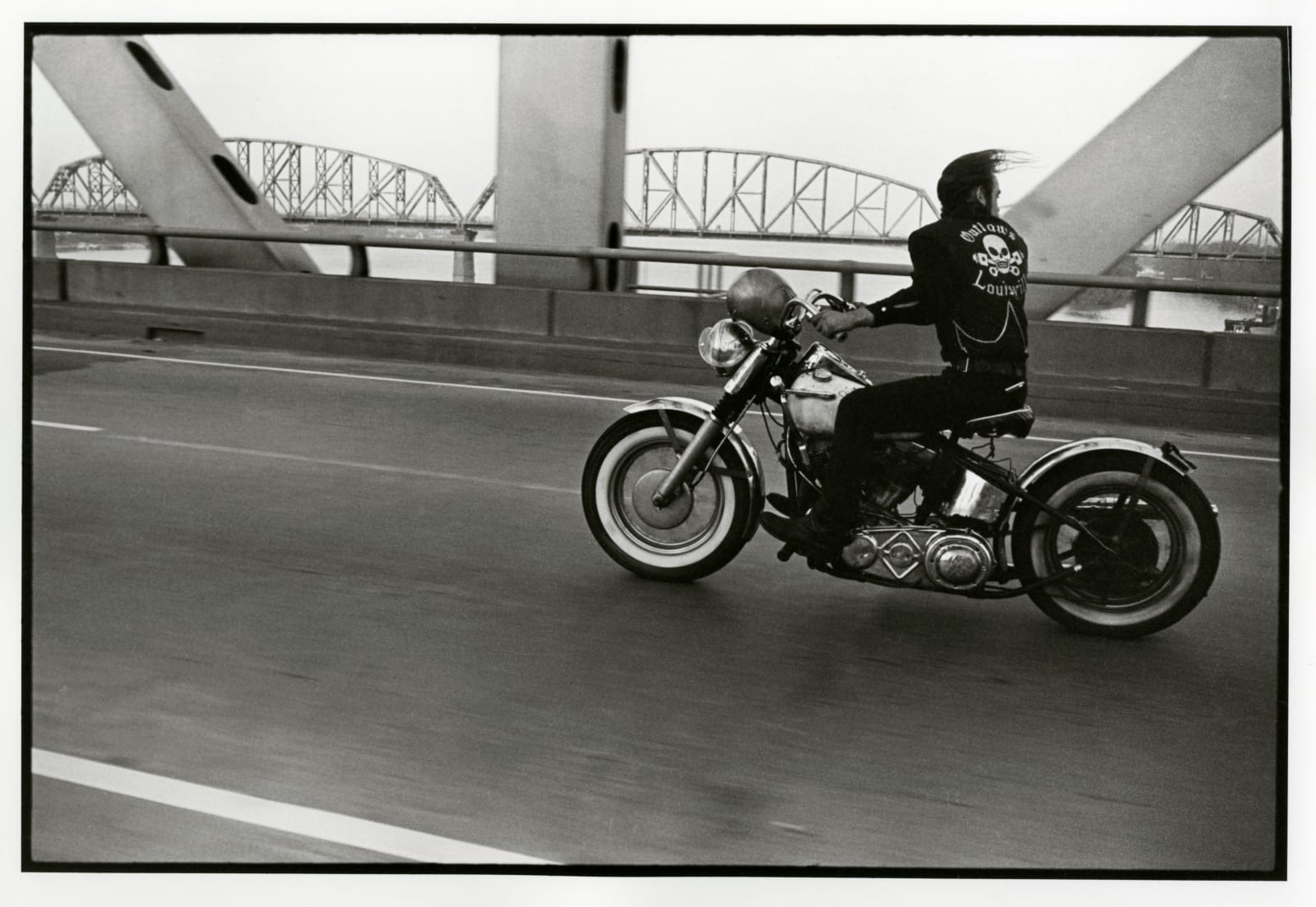 Danny Lyon - Crossing The Ohio River Near Louisville, 1966