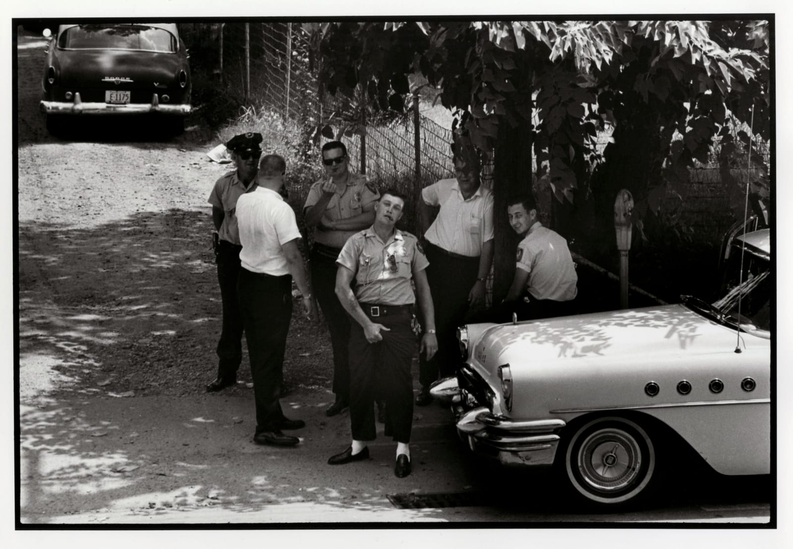 Danny Lyon - Clarksdale Mississippi Police, 1963