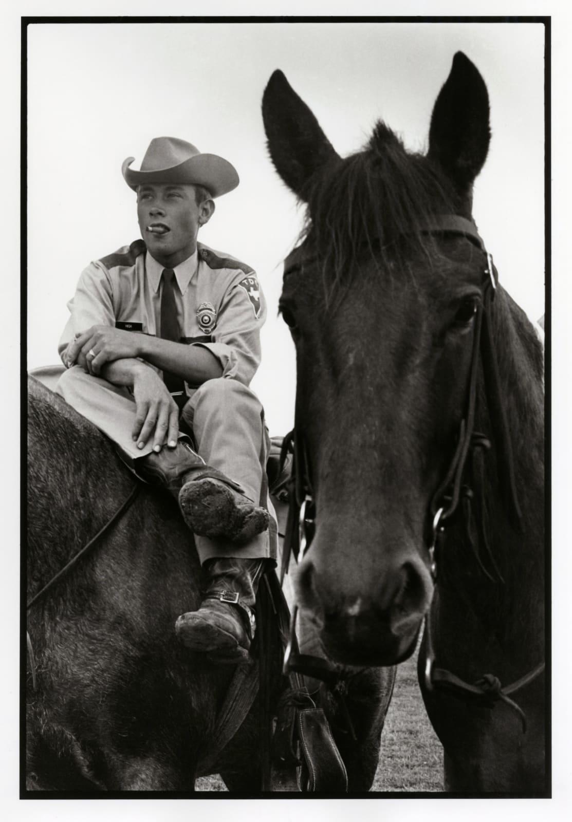 Danny Lyon - Boss, Ellis Unit, Texas Department Of Corrections, 1968