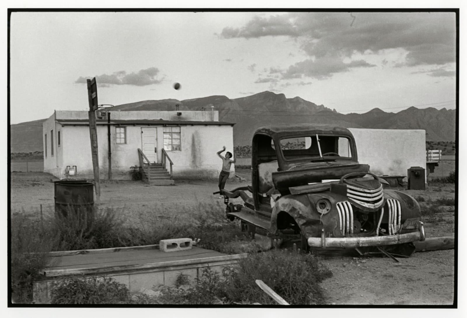 Danny Lyon - Llanito, New Mexico, 1970