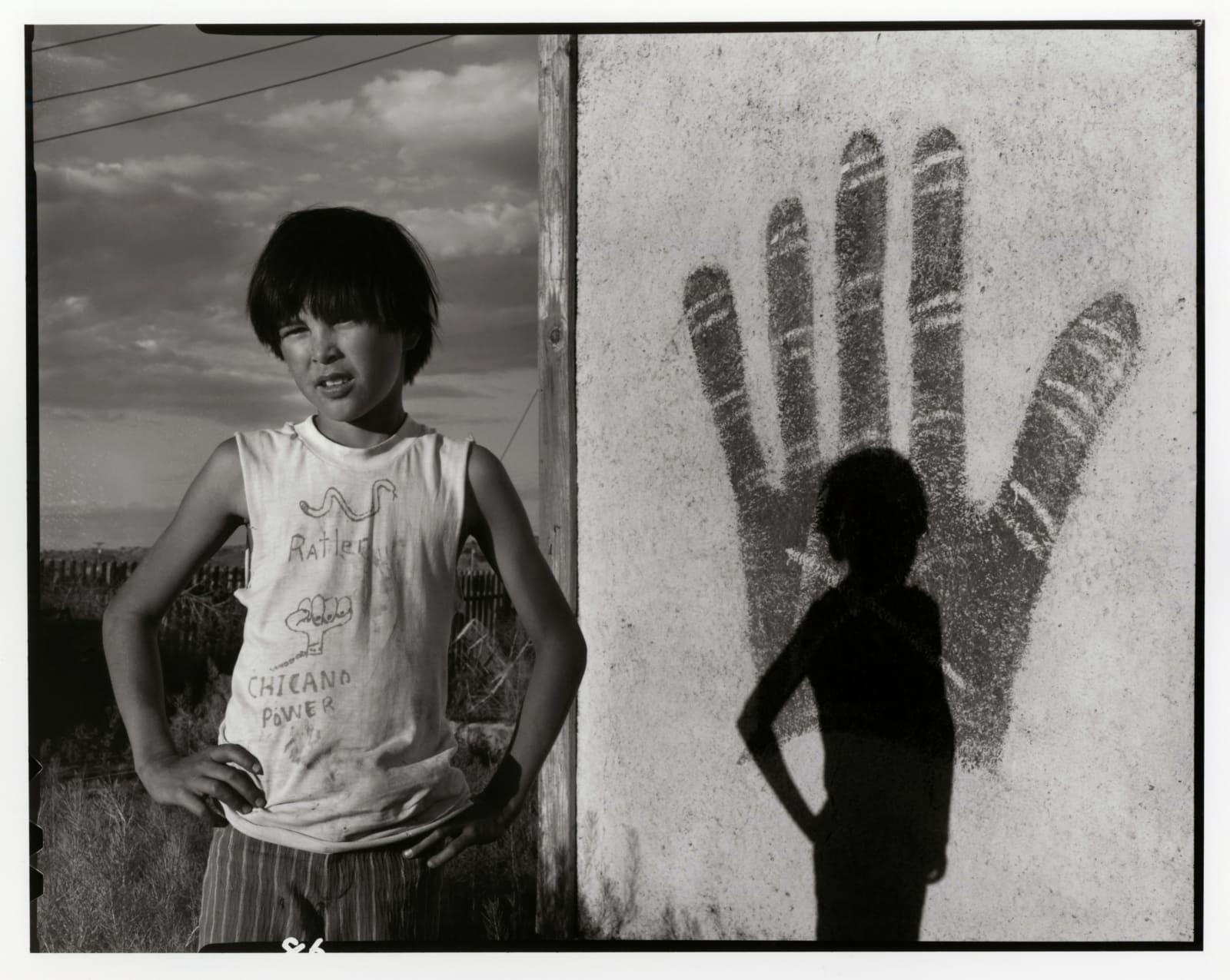Danny Lyon - Johnnie Sanchez, Bernalillo, New Mexico, 1973