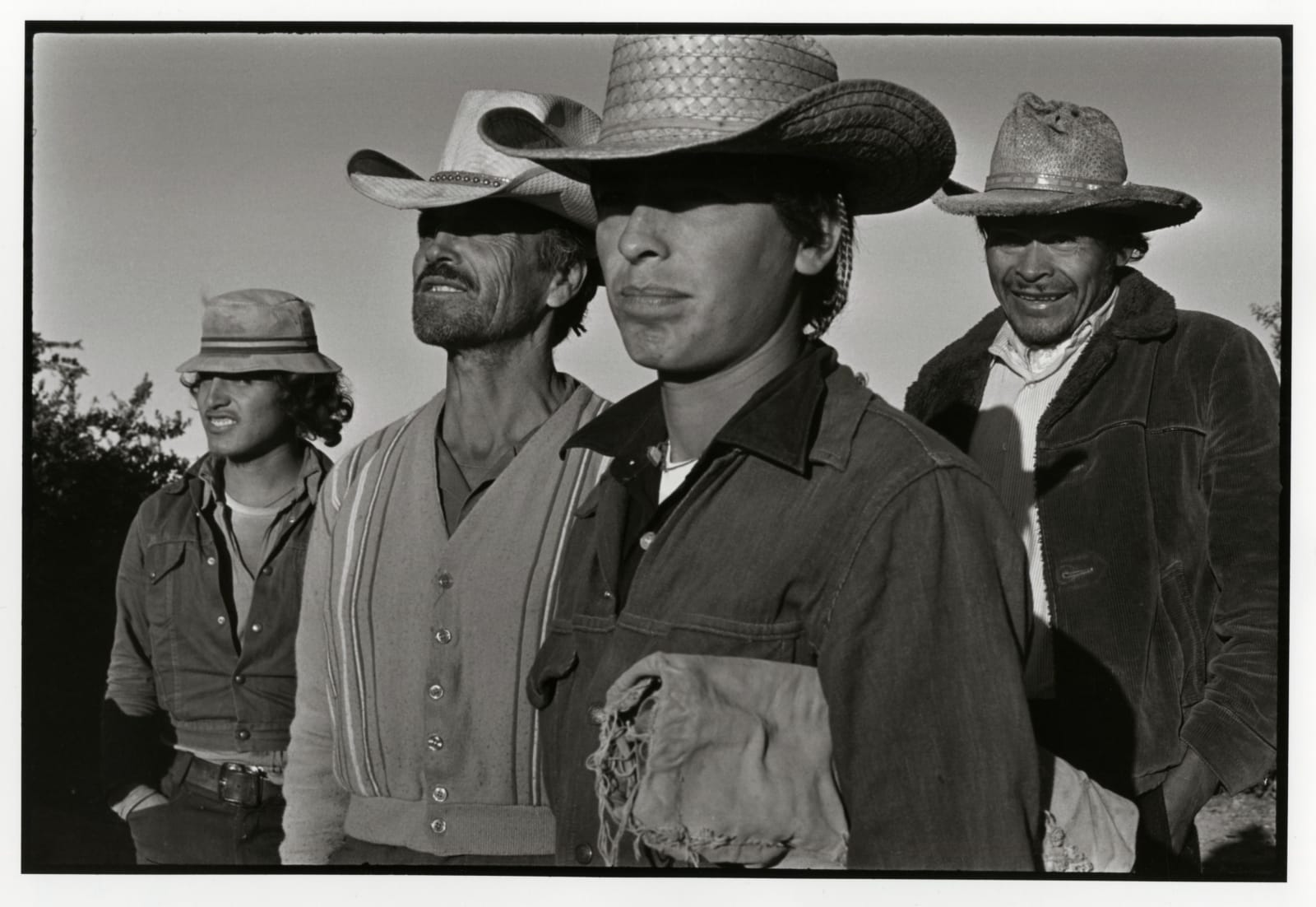 Danny Lyon - The Garay Family, Maricopa County, Arizona, 1973