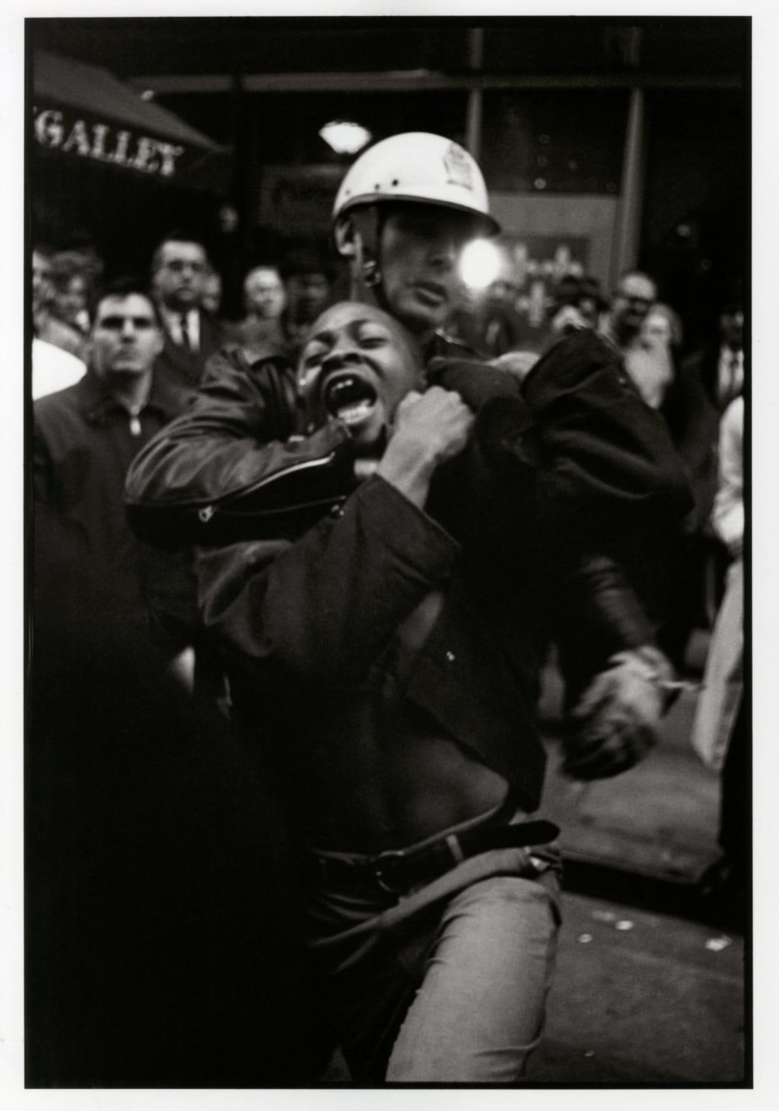 Danny Lyon - Arrest Of Taylor Washington Atlanta, 1963