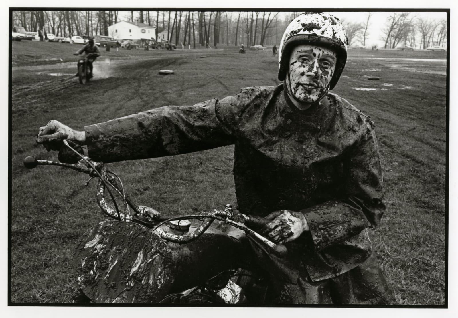 Danny Lyon - Racer, Schererville, Indiana, 1965